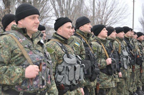 Николаев встретил милиционеров, вернувшихся из зоны АТО (ФОТО) (фото) - фото 2