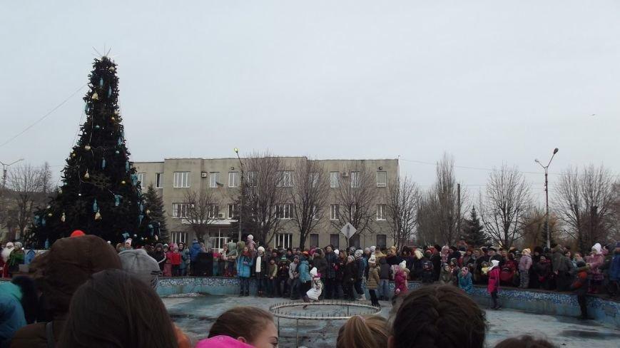 Открытие Новогодней елки в Димитрове (фото) - фото 9