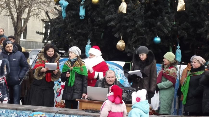 Открытие Новогодней елки в Димитрове (фото) - фото 8