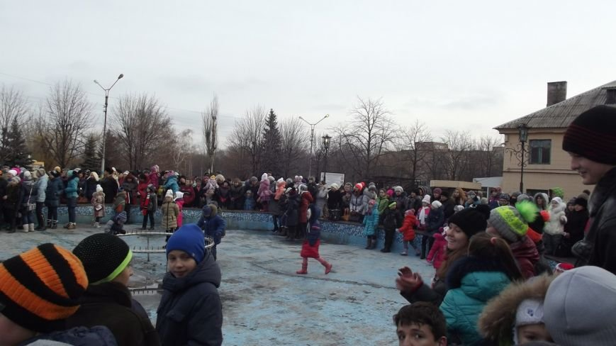 Открытие Новогодней елки в Димитрове (фото) - фото 12