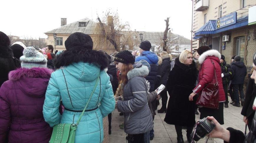 Открытие Новогодней елки в Димитрове (фото) - фото 3