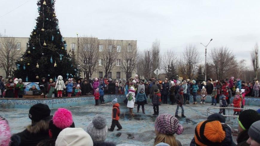 Открытие Новогодней елки в Димитрове (фото) - фото 11