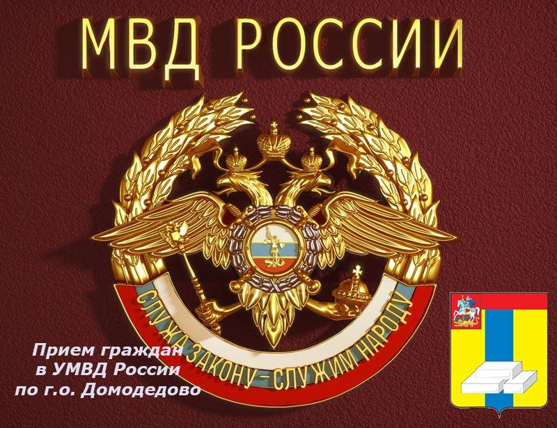 Прием граждан в УМВД России по г.о. Домодедово (фото) - фото 1