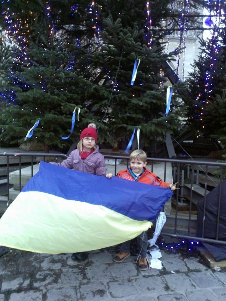 Украинцы в Париже почтили память погибших бойцов батальона «Кривбасс» (ФОТО), фото-7
