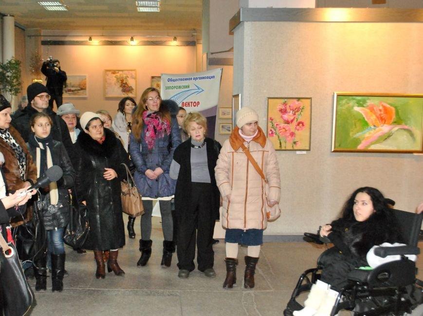 Запорожье - Сумы: художники с особенными потребностями обменялись картинами и открыли выставки (ФОТО) (фото) - фото 2