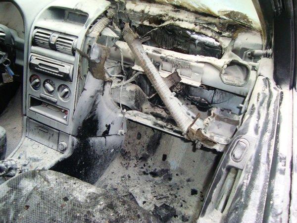 В столице на ходу загорелся Opel Astra (ФОТО) (фото) - фото 1