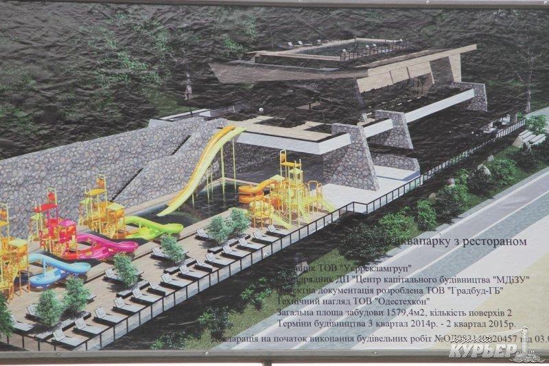 В одесской Аркадии построят аквапарк с двухэтажным рестораном (ФОТО) (фото) - фото 1