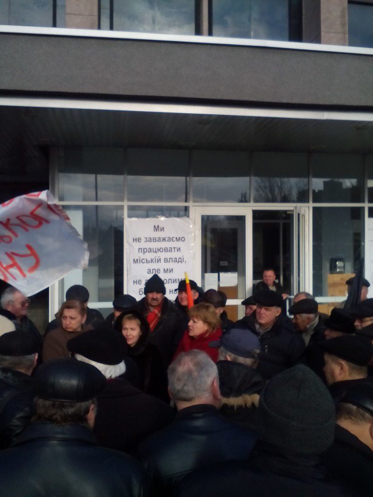 Криворожские чернобыльцы пригрозили массовыми протестами, если у них отнимут льготы, фото-4