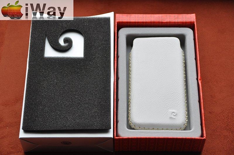 Новорічний подарунок для коханого! Кожаний чохол для iPhone від Pierre Cardin, фото-4