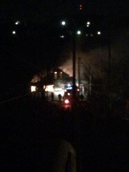 Ночью под Симферополем сгорел дом. На пожаре обнаружен труп (ФОТО) (фото) - фото 1