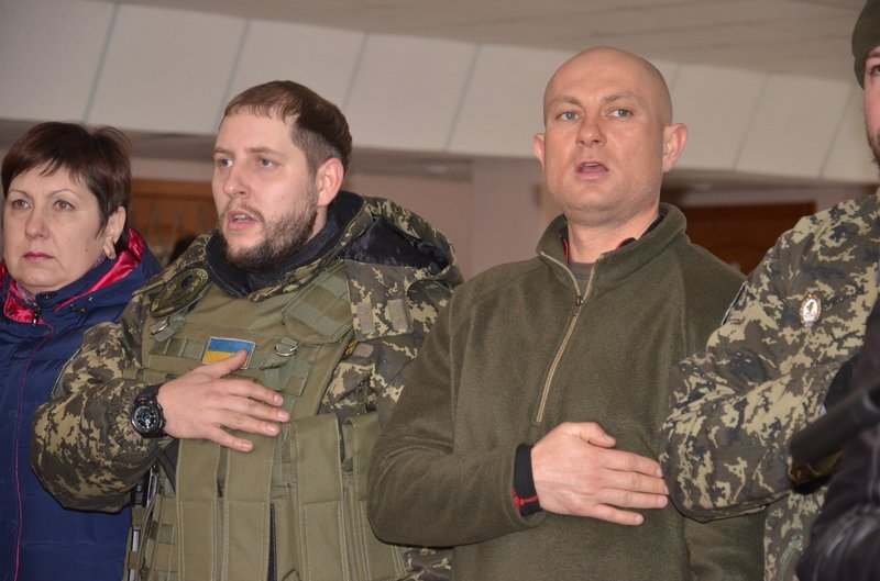 Батальон «Приднепровье» устроит для днепропетровчан, школу молодого бойца (фото) - фото 1