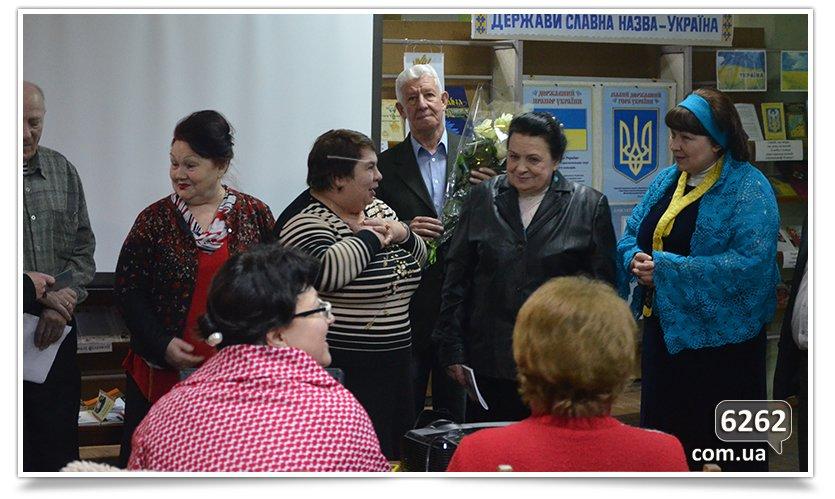 В центральной библиотеке Славянска состоялся творческий вечер Татьяны Чалой (фото) - фото 1