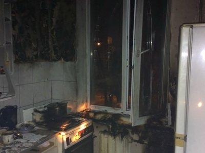 В Киеве во время пожара пострадала 77-летняя пенсионерка (ФОТО) (фото) - фото 1