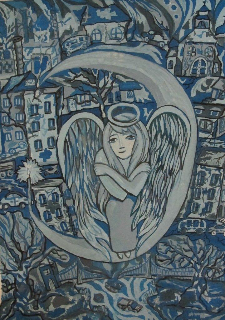 У Кіровограді відкрито виставку робіт «Новорічний подарунок» студентки Кіровоградського коледжу, фото-3