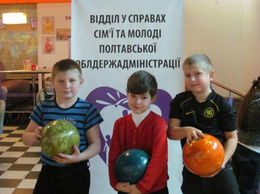 В Полтаві провели турнір з боулінгу для дітей з особливими потребами (ФОТО) (фото) - фото 2