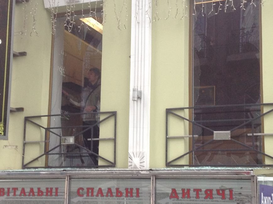 Очевидец взрыва на Рымарской: В момент взрыва даже стакан из руки выпал (ФОТО), фото-14