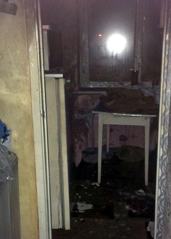 В Доброполье на пожаре погиб 8-летний ребенок, его 6-летний брат находится в коме (фото) - фото 1