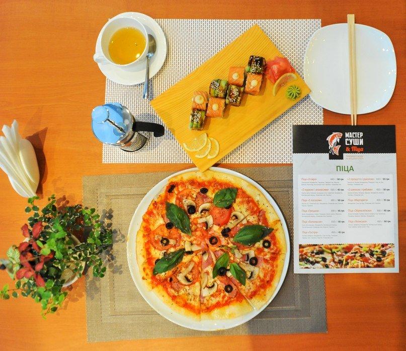 Універсальне меню нового закладу: Майстер суші тепер готує ще й піцу (фото) - фото 3