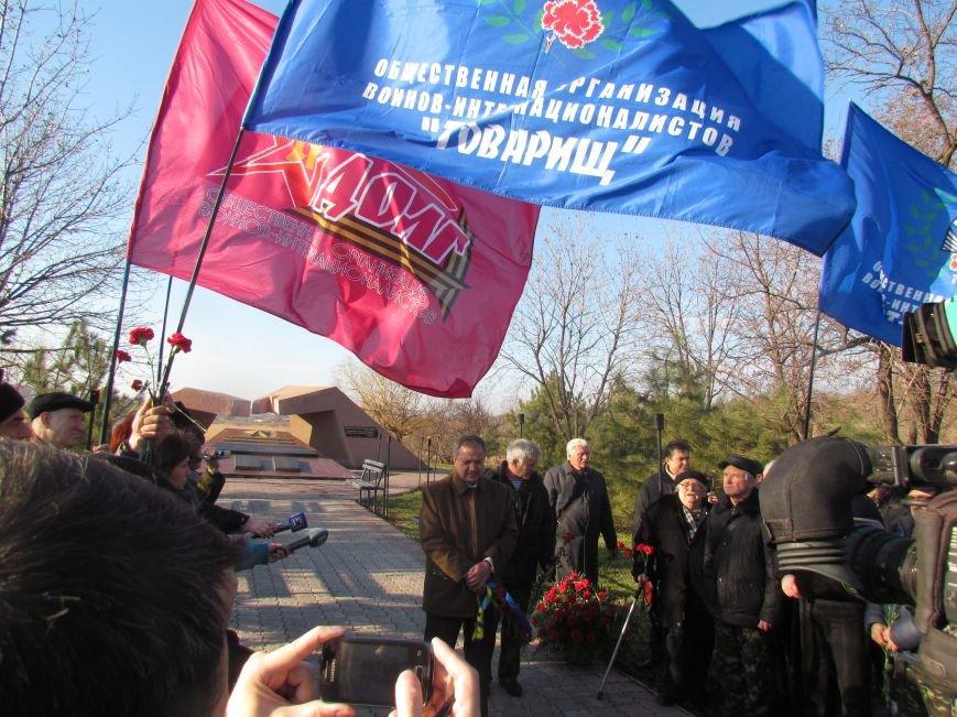 В Мариуполе почтили память воинов-афганцев (ФОТО), фото-7