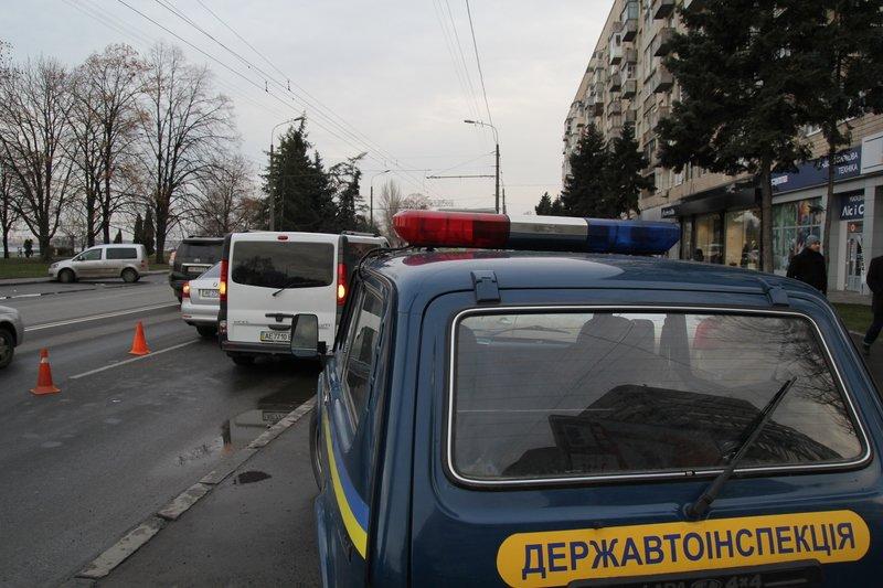 В Днепропетровске по ул.Набережная Ленина случилось ДТП (фото) - фото 1