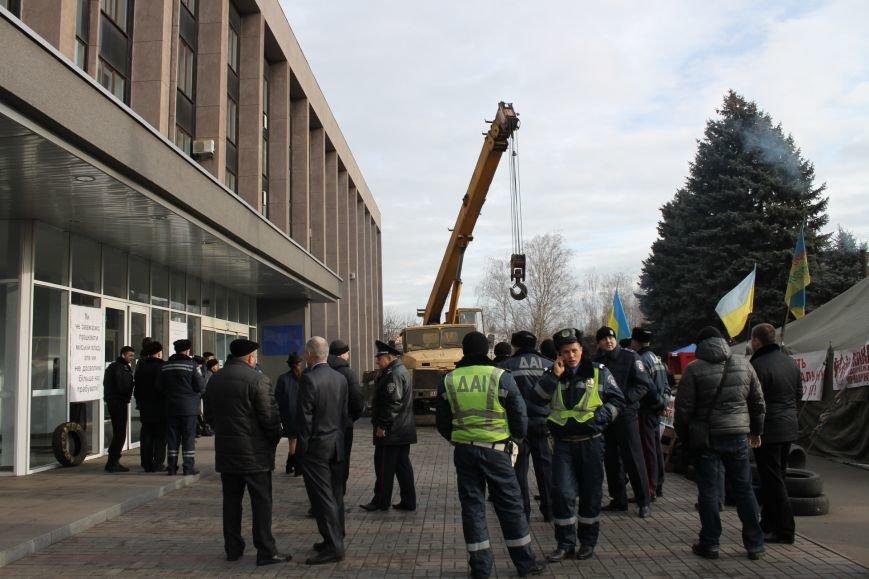 Чиновники Кривого Рога не поддержали инициативу установки памятника героям,  погишим за свободу Украины (ФОТО), фото-8