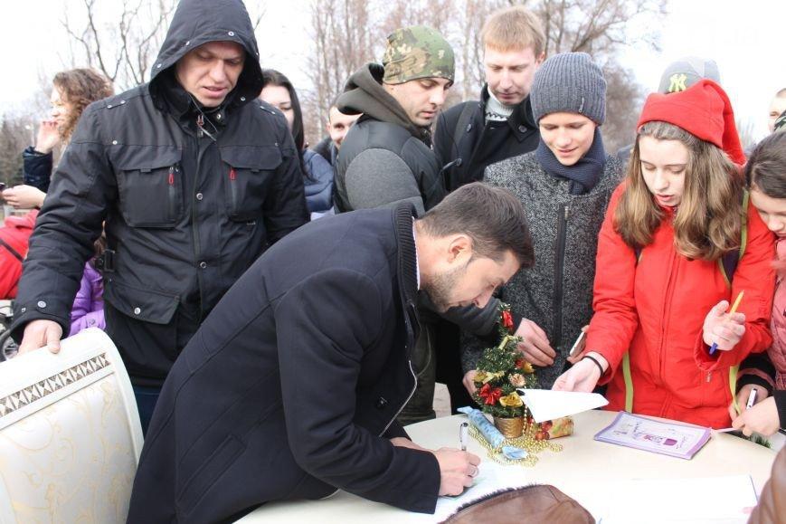 В Кривом Роге неожиданно под горисполком завезли бетонные блоки для памятника, а распространителей «Новороссии» могут отпустить (фото) - фото 4