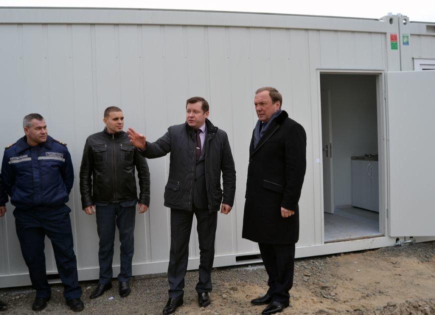 Модульный городок для переселенцев в Днепродзержинске почти готов, фото-1