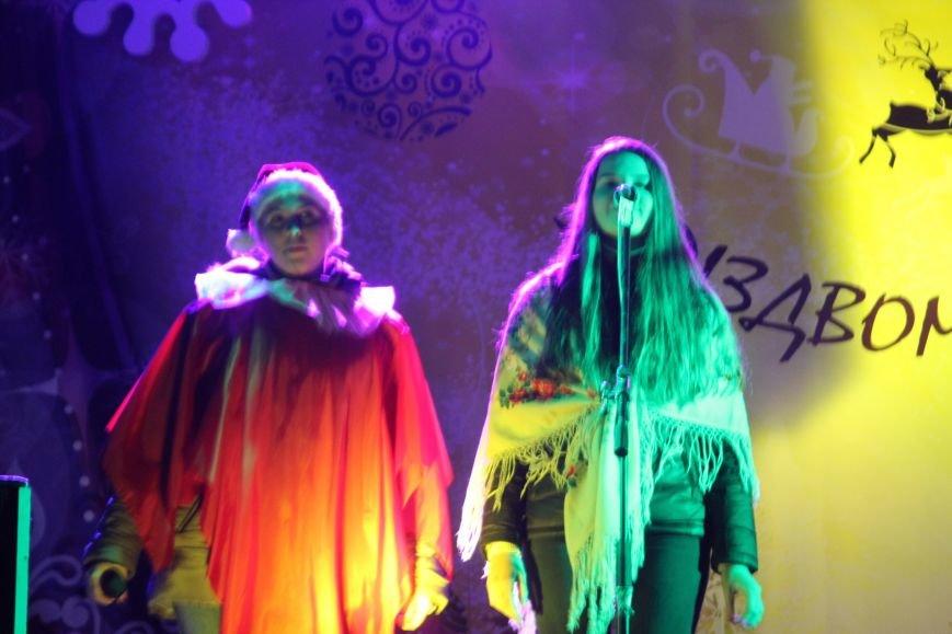 В Днепропетровске в парке Шевченко елка откыралась фаер-шоу (фото) - фото 1