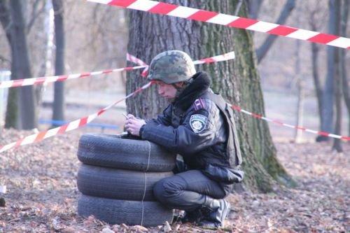 На Черниговщине в городском парке нашли боевые гранаты, фото-1