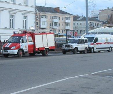 В Полтаве снова «минировали» здание городского совета (фото) - фото 1