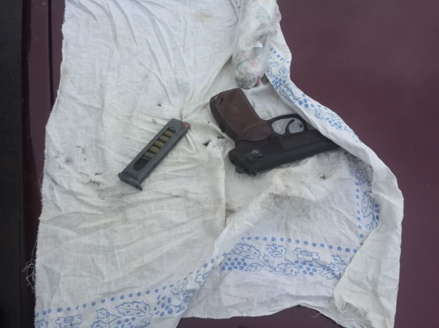 На Кировоградщине поймали мужчину, который перевозил пистолет и наркотики, фото-2
