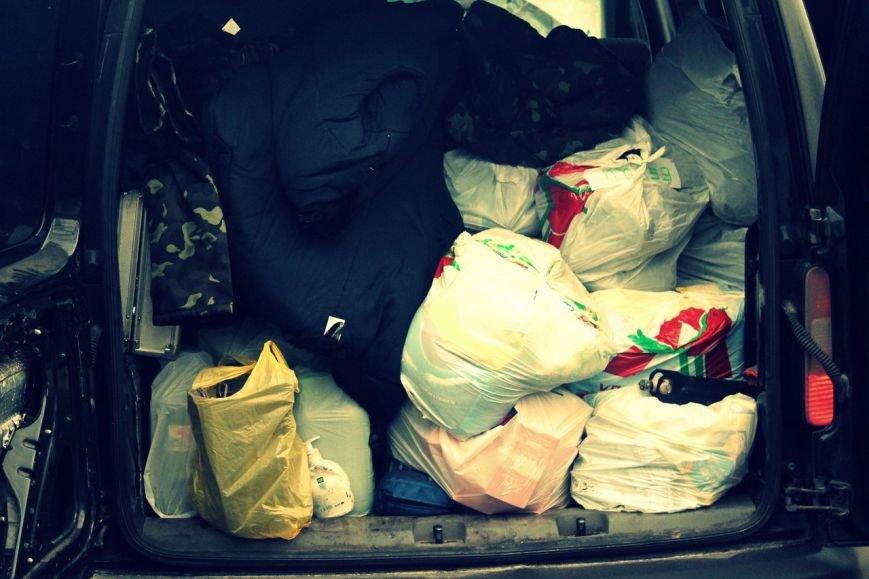 Активисты «Димитровского патриотического руха» привезли бойцам полка «Днепр-1» гуманитарную помощь на сумму 40 тыс. грн. (фото) - фото 14