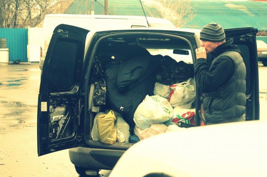 Активисты «Димитровского патриотического руха» привезли бойцам полка «Днепр-1» гуманитарную помощь на сумму 40 тыс. грн. (фото) - фото 24