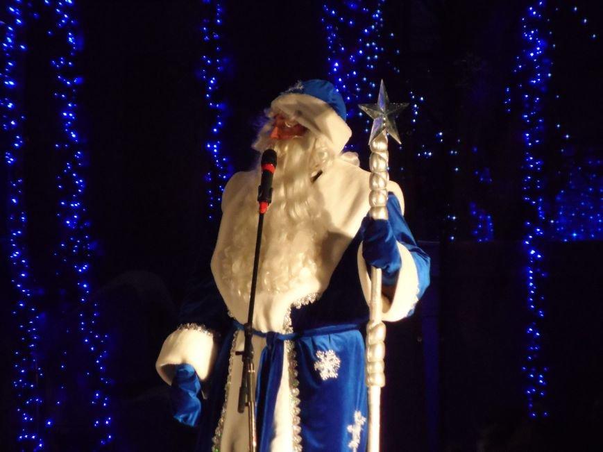 На площади Ленина прошло открытие новогодней елки, фото-1