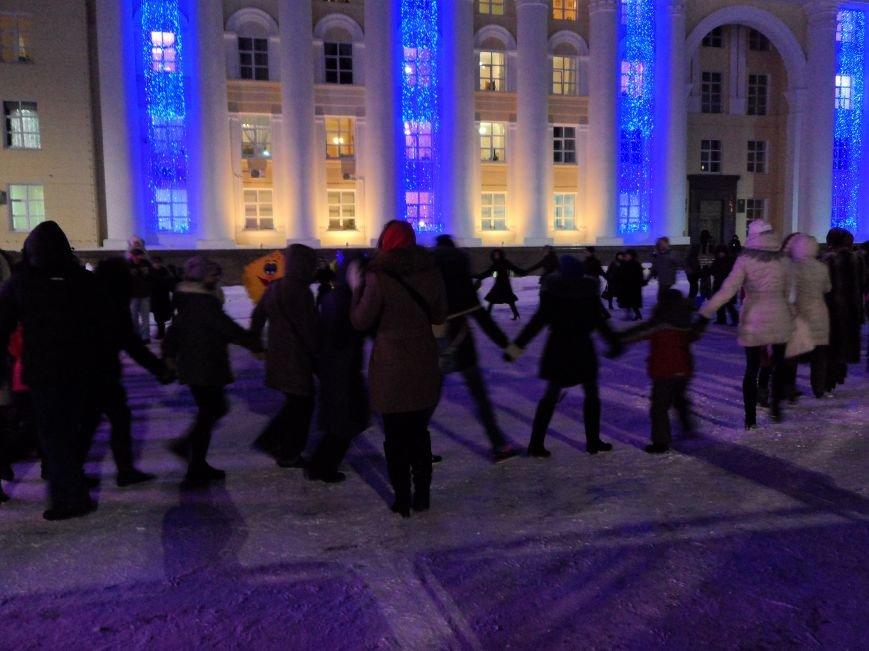 На площади Ленина прошло открытие новогодней елки, фото-2