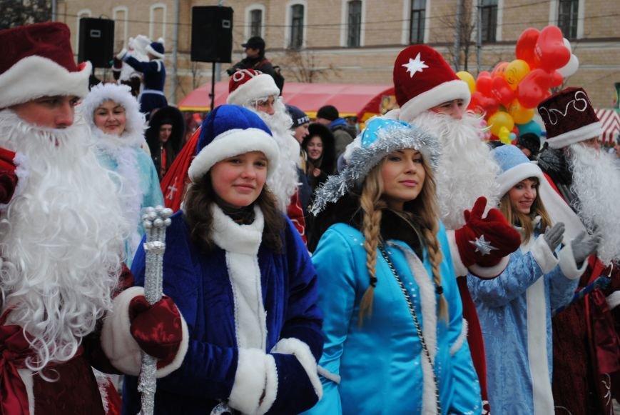 По харьковским улицам прошли полтысячи Дедов Морозов (ФОТО+ВИДЕО), фото-10