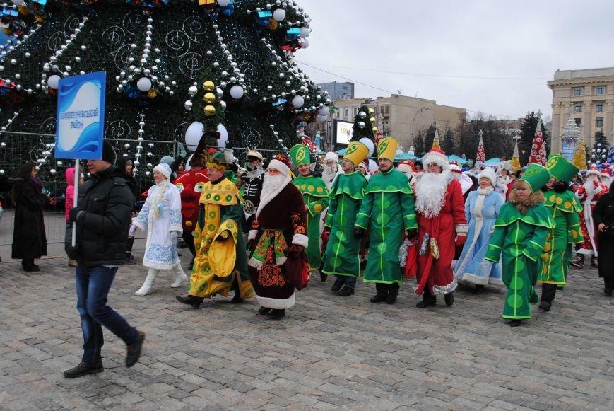По харьковским улицам прошли полтысячи Дедов Морозов (ФОТО+ВИДЕО), фото-11