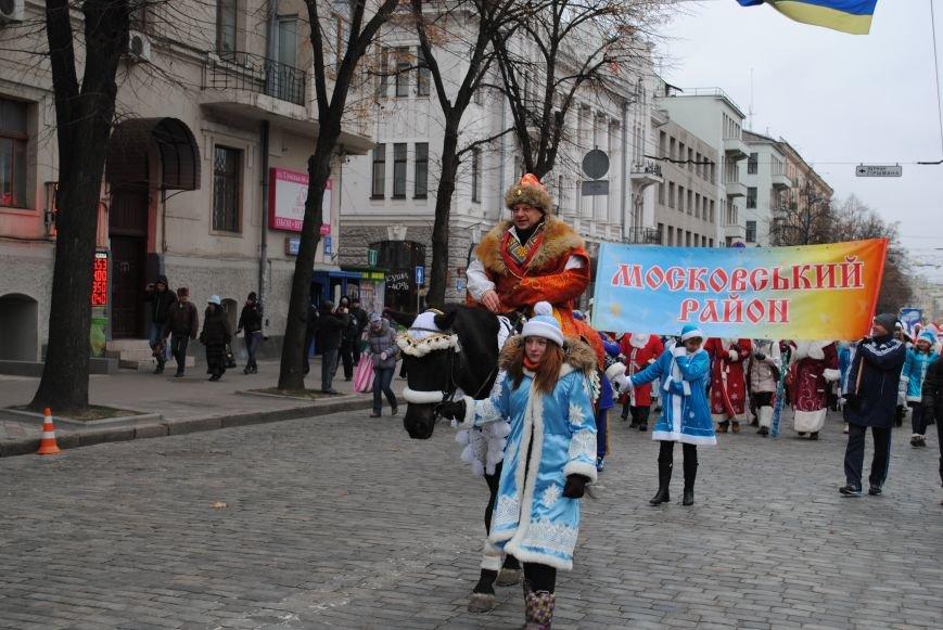 По харьковским улицам прошли полтысячи Дедов Морозов (ФОТО+ВИДЕО), фото-7