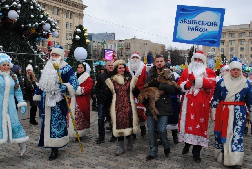 По харьковским улицам прошли полтысячи Дедов Морозов (ФОТО+ВИДЕО), фото-12