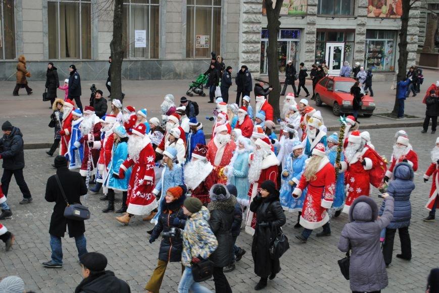 По харьковским улицам прошли полтысячи Дедов Морозов (ФОТО+ВИДЕО), фото-3