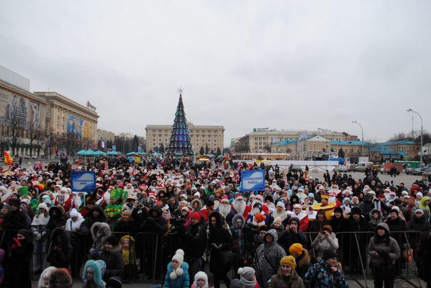 По харьковским улицам прошли полтысячи Дедов Морозов (ФОТО+ВИДЕО), фото-22