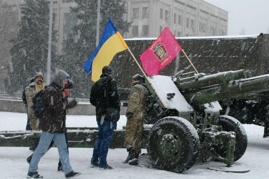 ФОТОРЕПОРТАЖ: В Запорожье артиллеристы показали военную технику, «воевавшую» в зоне АТО (ВИДЕО), фото-8