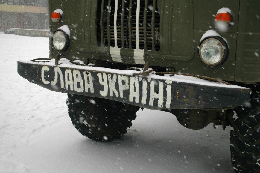 ФОТОРЕПОРТАЖ: В Запорожье артиллеристы показали военную технику, «воевавшую» в зоне АТО (ВИДЕО), фото-11