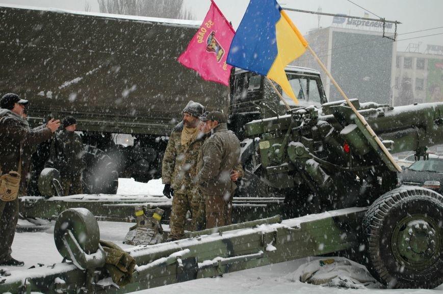 ФОТОРЕПОРТАЖ: В Запорожье артиллеристы показали военную технику, «воевавшую» в зоне АТО (ВИДЕО), фото-15
