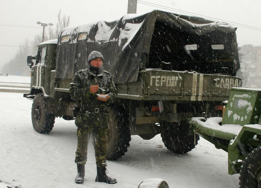 ФОТОРЕПОРТАЖ: В Запорожье артиллеристы показали военную технику, «воевавшую» в зоне АТО (ВИДЕО), фото-6