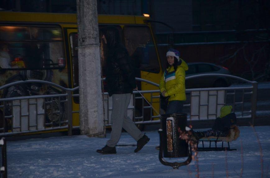 Мариуполь закружила зима (ФОТОРЕПОРТАЖ), фото-36