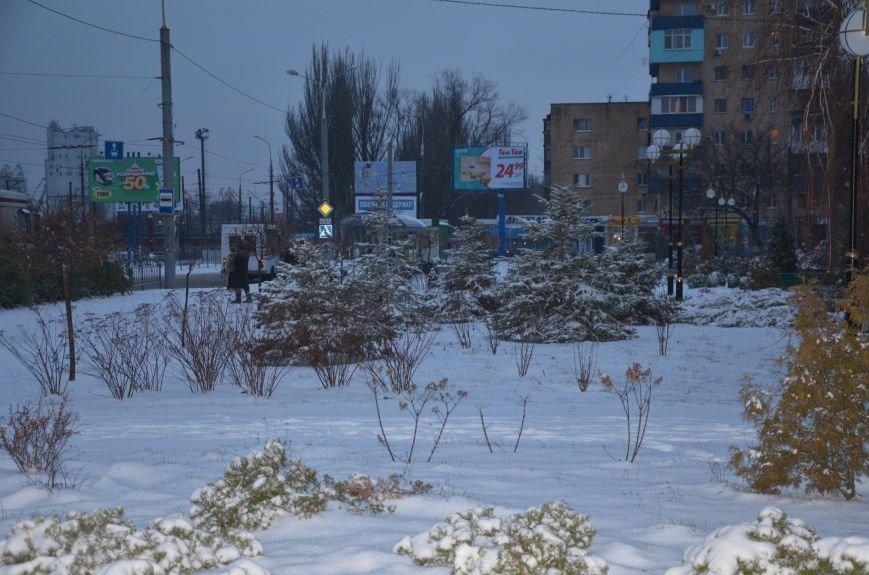 Мариуполь закружила зима (ФОТОРЕПОРТАЖ), фото-19