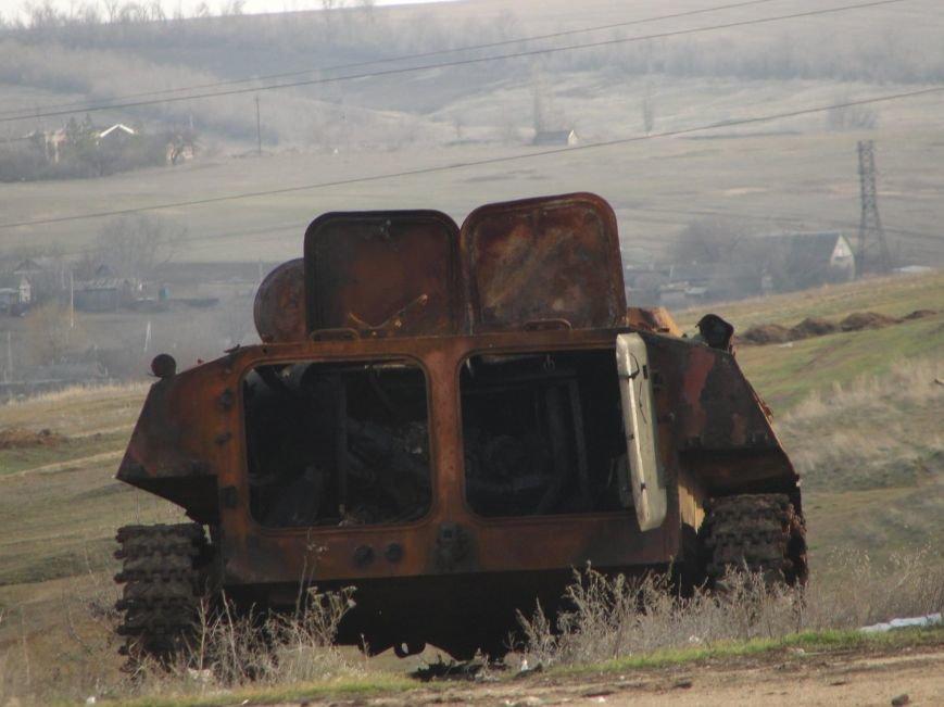 Боевики обстреляли бойцов «Азова» под Мариуполем, фото-1