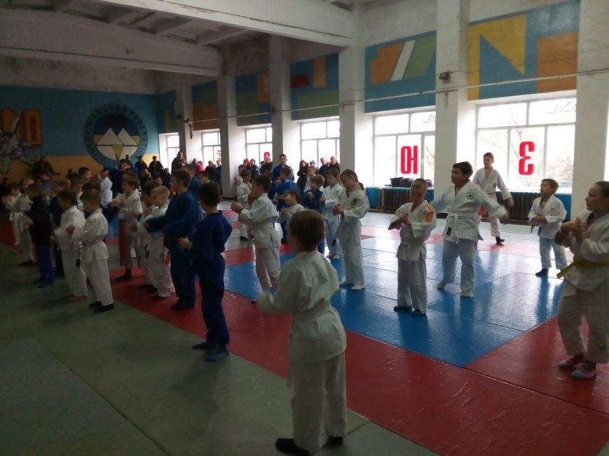 В Славянске состоялся Новогодний турнир по дзюдо среди детей (фото) - фото 1