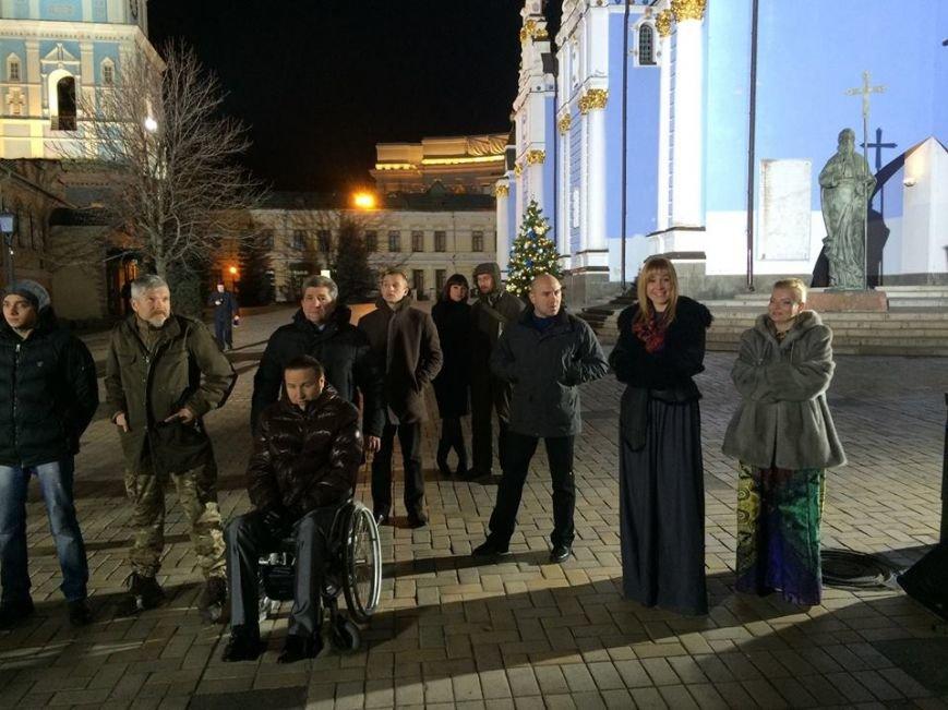 Новогоднее выступление президента Украины (фото) (фото) - фото 1